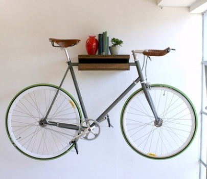 Seriously Creative Ideas for a Bike Friendly Home