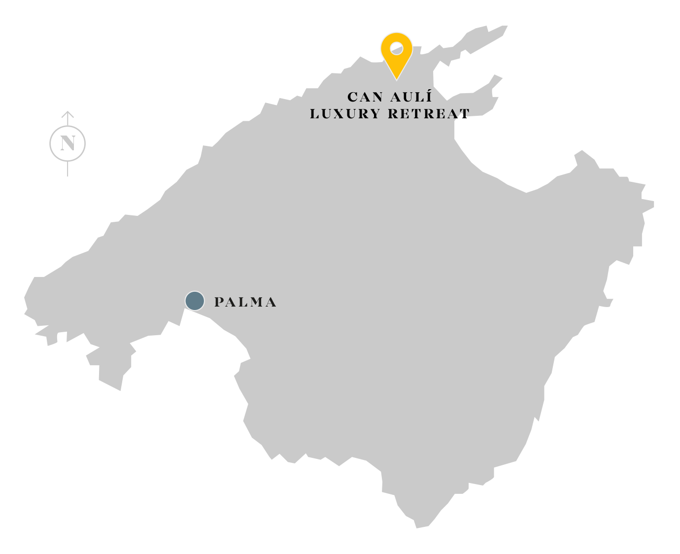 Can Aulí Luxury Retreat location map