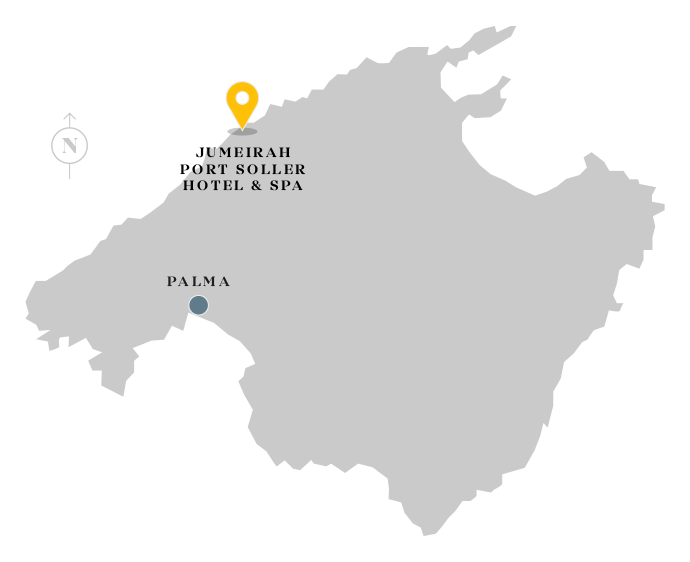 Jumeirah Port Soller Hotel & Spa location map