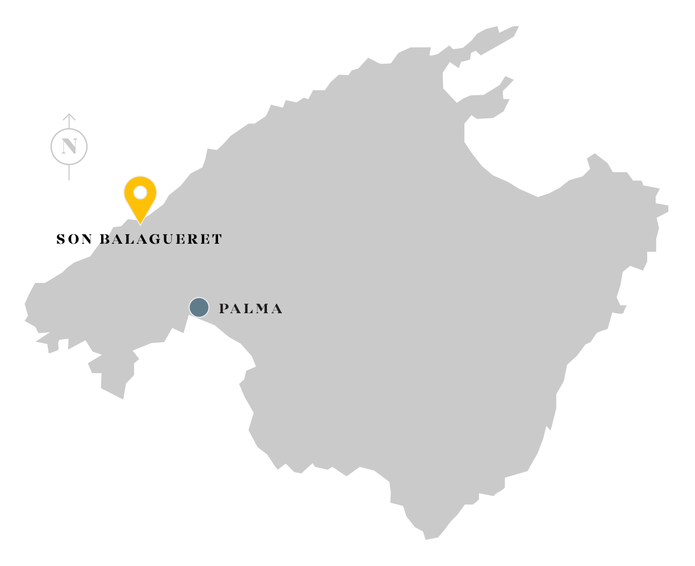 Son Balagueret location map